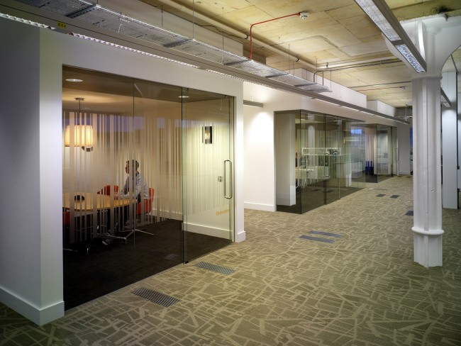 Glazed Office Partitions