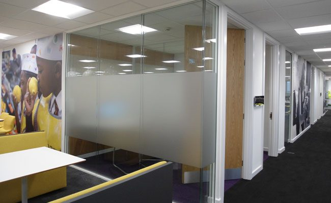 Double Glazed Partitions