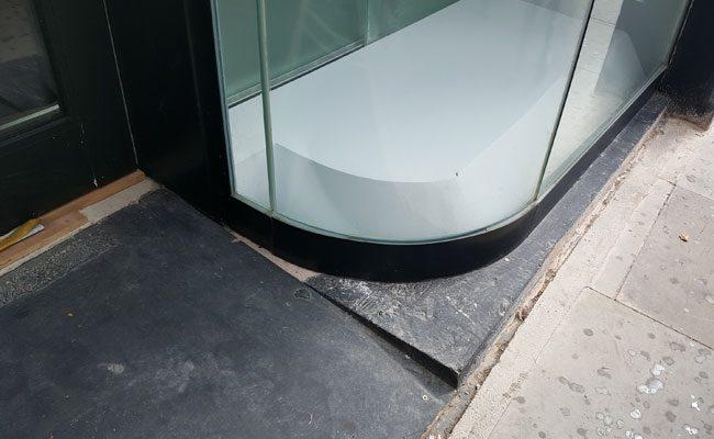 Curved Glass Shopfront