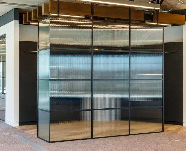 Industrial Glass Screen