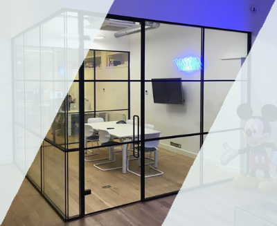 Crittall Glass Partition